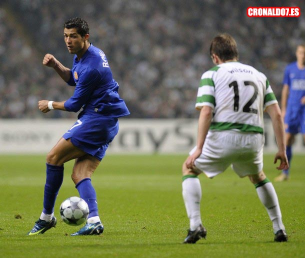 Cristiano Ronaldo vs Celtic