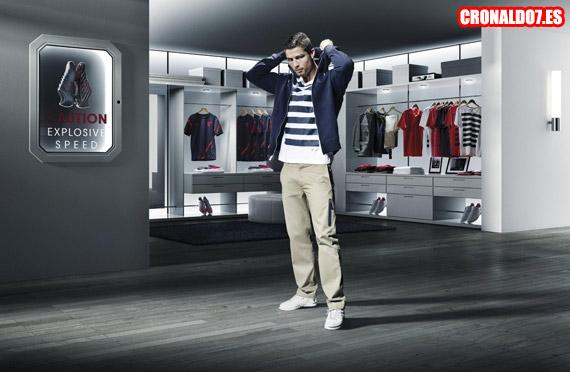 Cristiano Ronaldo presentó su nueva colección de Nike 06d80f87dfd16