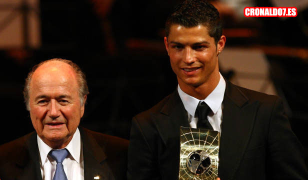 Cristiano y Blatter
