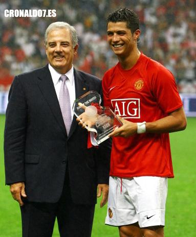 Cristiano Ronaldo elegido mejor jugador del partido