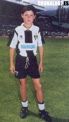 Cristiano Ronaldo de niño