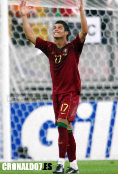 Cristiano Ronaldo con la seleción portuguesa